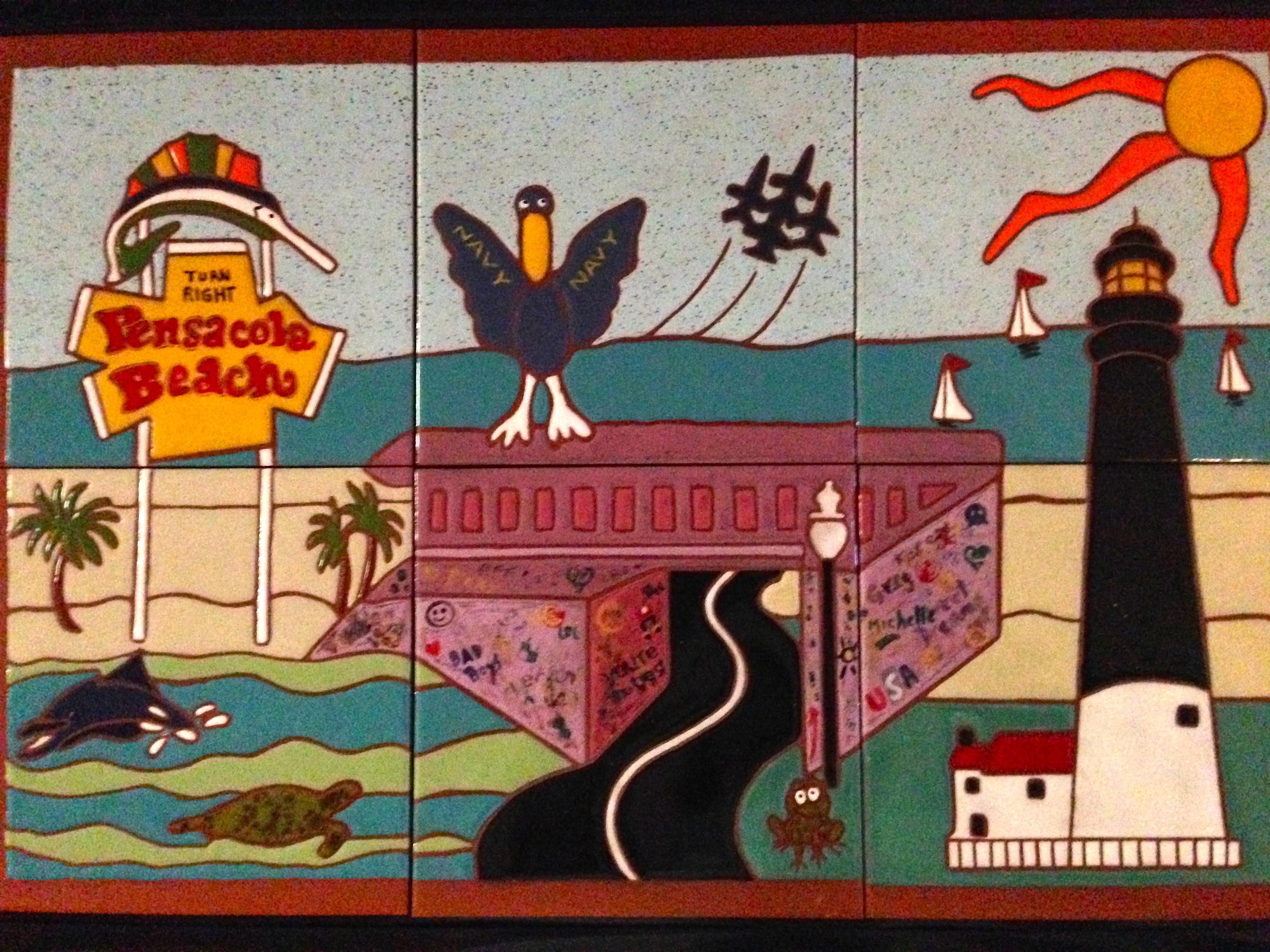 Pensacola Mural